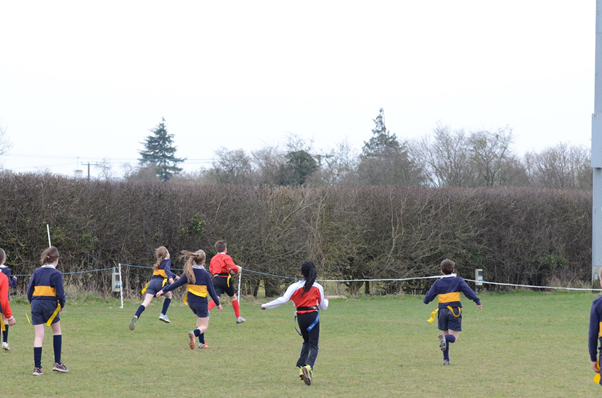 Credenhill running in a try to win the Vase