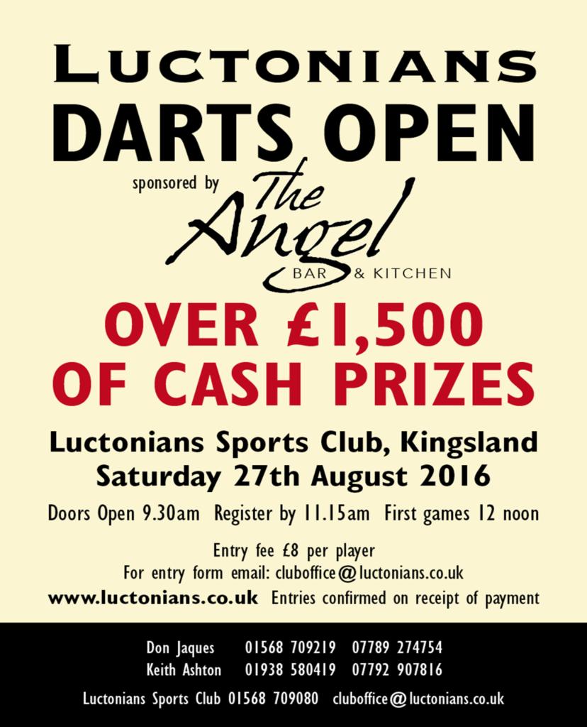 Darts-Open