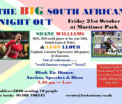 big-south-african-night-out