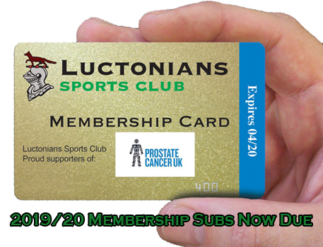 2019-20 Membership Due W